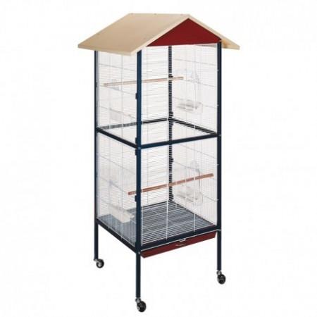 volière mobile pour perroquets, perruches.