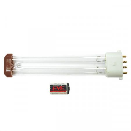 Kit recambio de lámpara UVC y pila litio