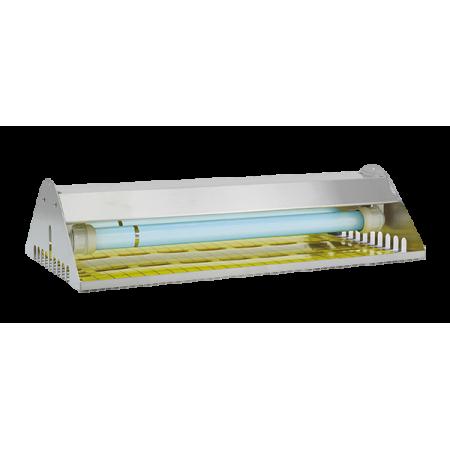 Exterminateur électrique d'insectes volants IP65 avec plaque adhésive