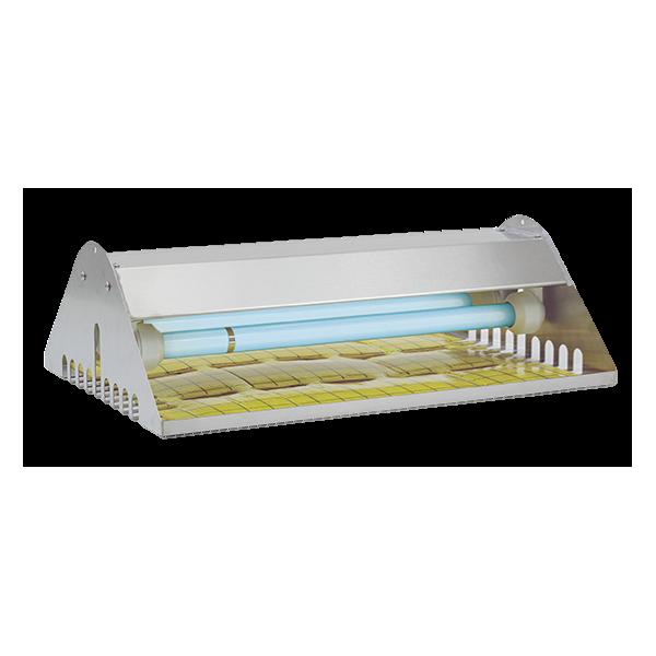 exterminador eléctrico de moscas y mosquitos de placa adhesiva con ip65 y tubos inastillables