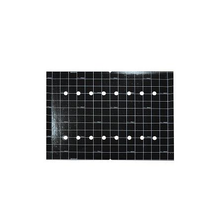 Black adhesive cardboard sheets