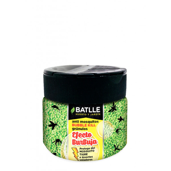 Mosquito granulated insecticide container