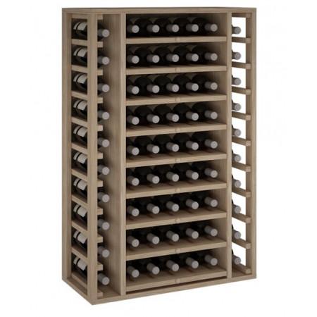 Oak bottle for 65 bottles...