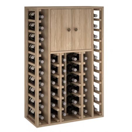 Oak 46 bouteilles 2 portes...