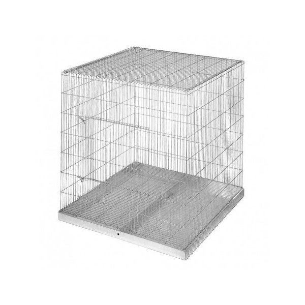 cage for exhibition of parrots and other birds