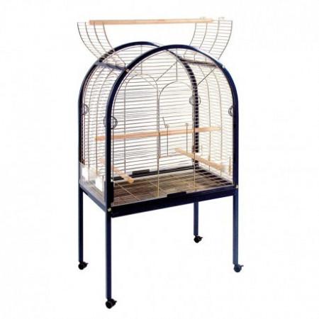 cage à perroquet en tôle galvanisée