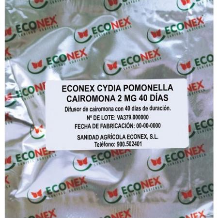Feromonas atrayentes para polillas del manzano