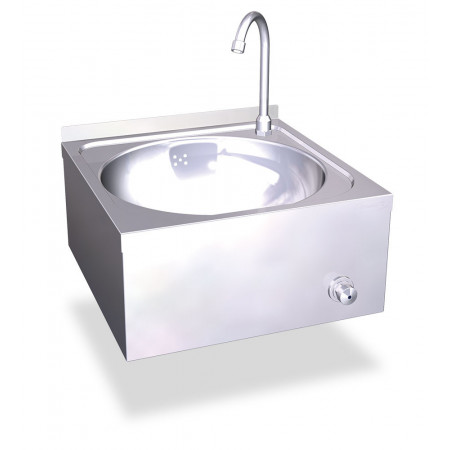 Wall washbasin knee hot and...