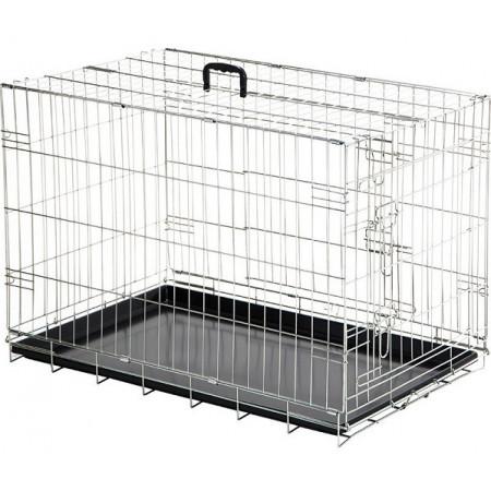 cage avec poignée pour le transport d'animaux