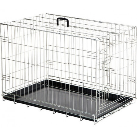 jaula con asa para transporte de mascotas
