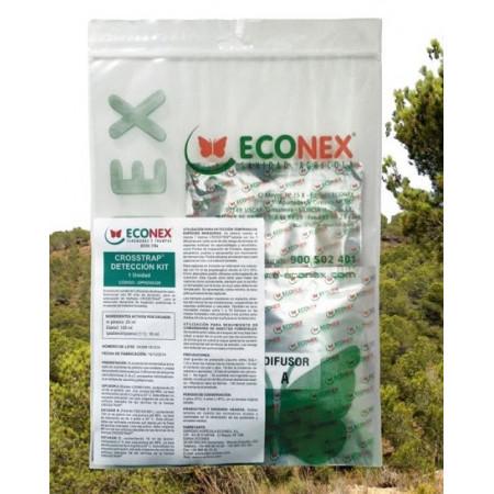 kit de atrayentes para especies de insectos forestales