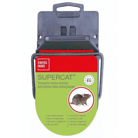 trampa plástico para matar ratas