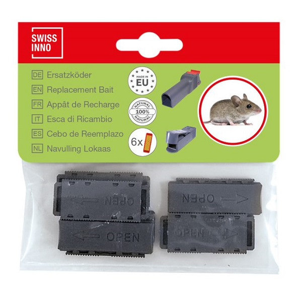 cebo reemplazo para trampa de ratones