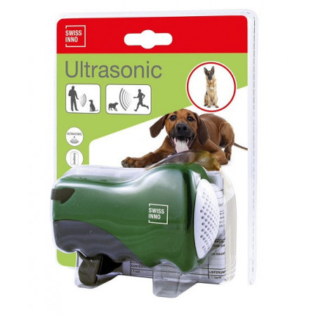 Mobile ultrasonic repeller for dogs