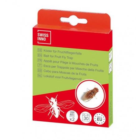 recambio cebo para trampa moscas de la fruta