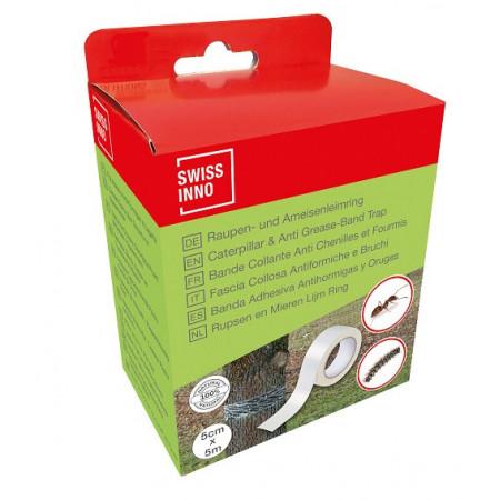 trampa adhesiva natural para hormigas y orugas
