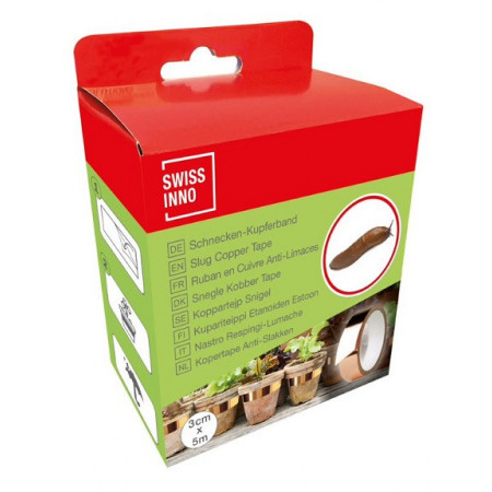 Copper tape for snails and slugs