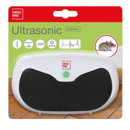 Ahuyentador electronico para ratas y ratones 20m²