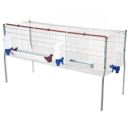 cage pour les poulets d'engraissement et autres oiseaux
