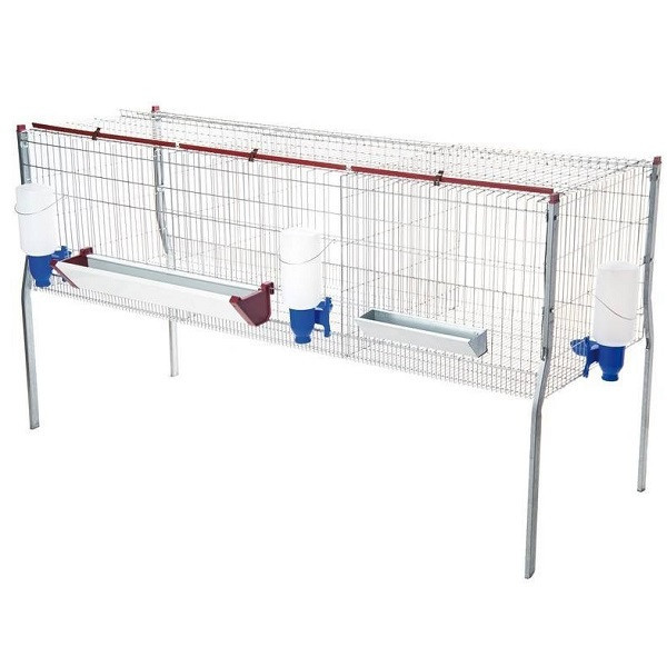 cage for fattening chickens and other birds