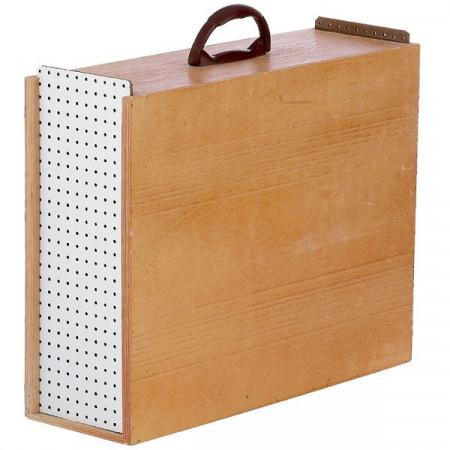Boîtes en bois pour le transport des coqs