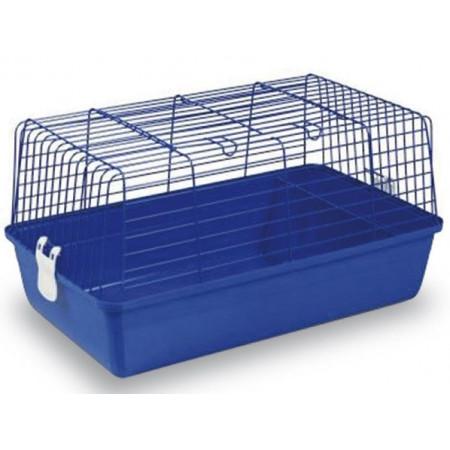 jaula para trasportar conejos y otros animales pequeños.