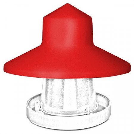 10kg metal hopper protector for chickens