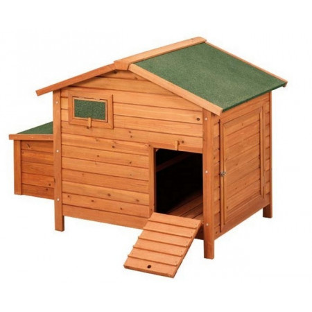 wooden chicken coop for 4 hens