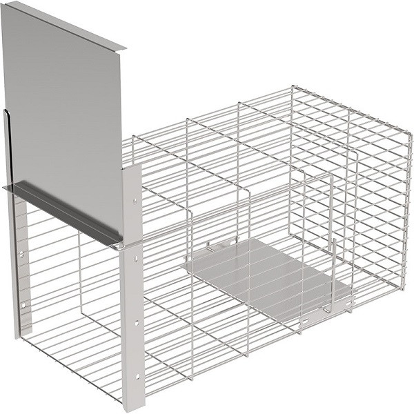 Cage for catching cats and rabbits