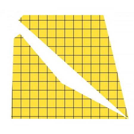 Feuilles adhésives de remplacement avec carrés pour tapettes à mouches