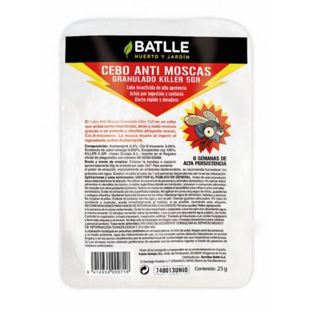 granulated fly bait tray