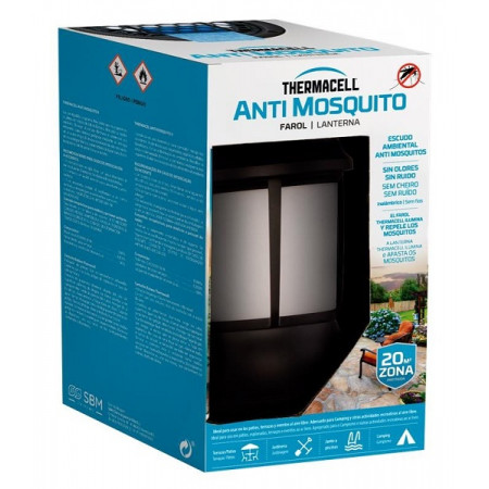 Repeller with light for the nights outside without mosquito bites