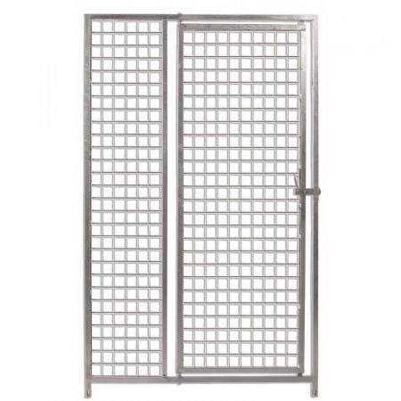Frente malla 100 cm 5x5cm con puerta  BOX ECO