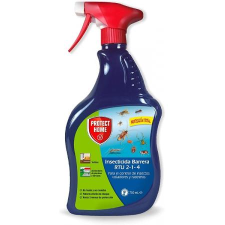 Insecticide de barrière pour les mouches, les moustiques, les guêpes, les cafards, les fourmis.