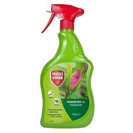 Insecticide for the protection of pests in rose bushes and horticultural plants