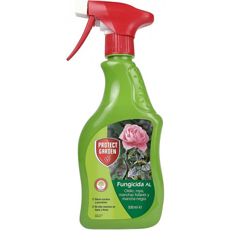 to prevent and eliminate powdery mildew and rosebush rust