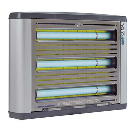Lámpara matamoscas por lámina adhesiva, protección ipx