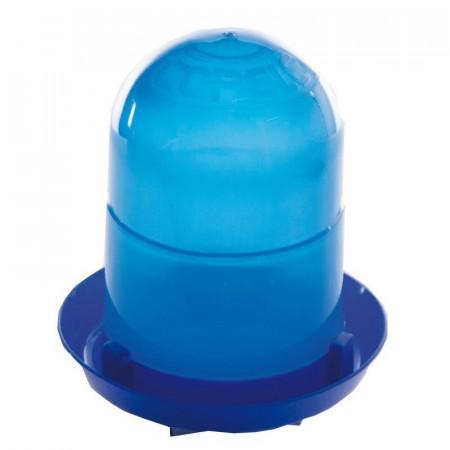 Bebedero para pollitos sin patas azul