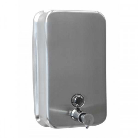 Stainless steel manual soap...